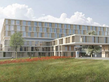 Construction du nouvel hopital cantonal de Baden